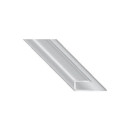 Abschlussprofil Alu 10 mm