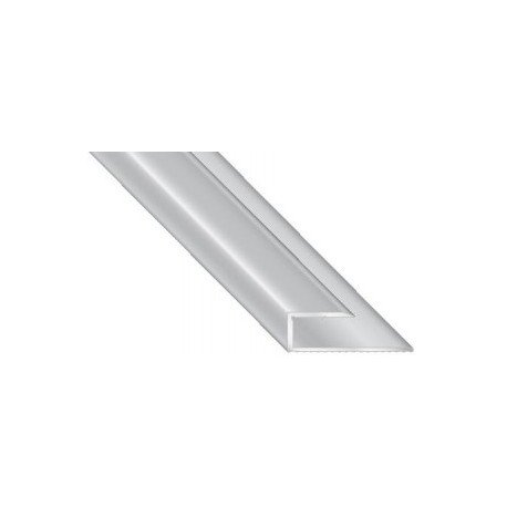 Abschlussprofil Alu 14 mm
