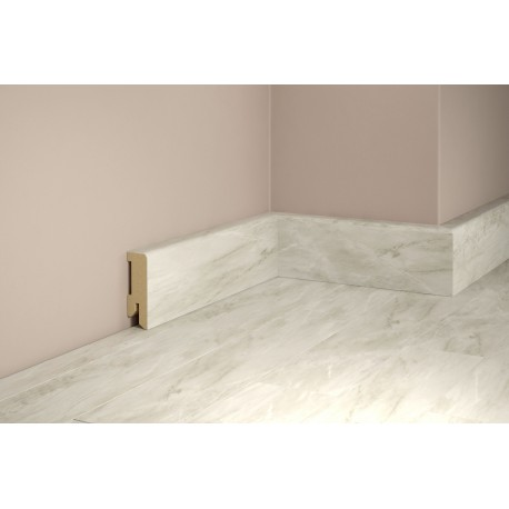Tilo Sockelleiste Vinyl Eleganto Marmor Carrara