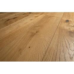 Admonter Landhausdiele Eco Floor Eiche Elan natur - schwarz gekittet