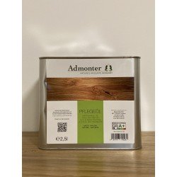 Admonter Pflegeöl easy care natur - 2,5 Liter